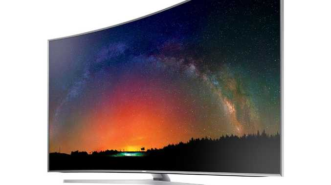Samsung Smart TV has partnered with iTunes it has been revealed at the CES in Las Vegas. Picture: Supplied