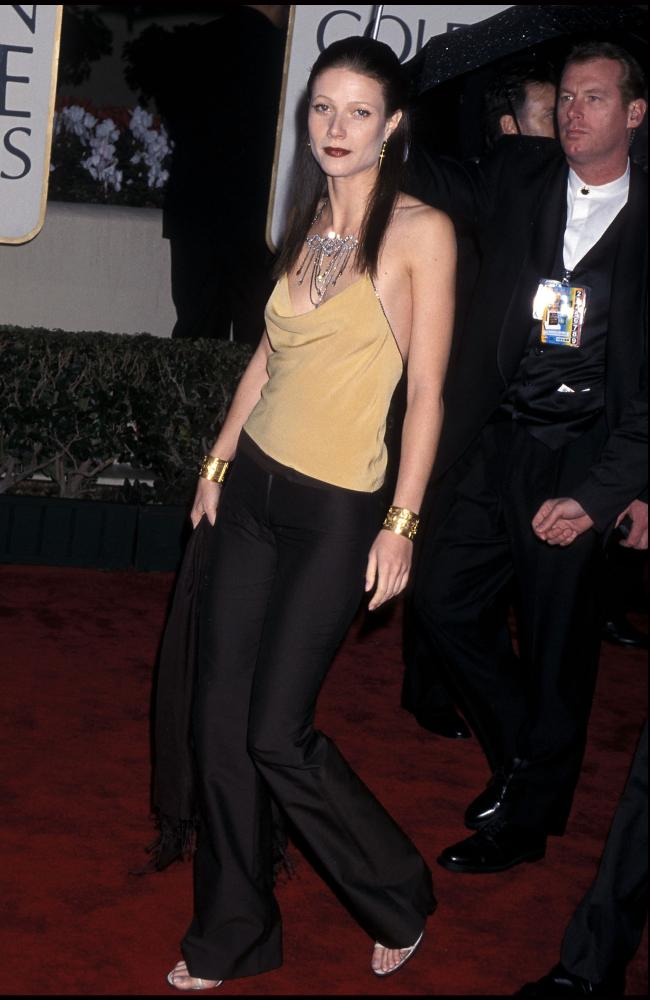 Gwyneth Paltrow's 2000 ensemble was pretty basic. Picture: Ron Galella, Ltd./WireImage