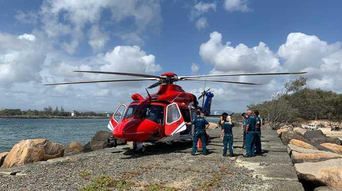 Rescue 500 Helicopter. Pic: Annie Erichsen/Volunteer Marine Rescue.