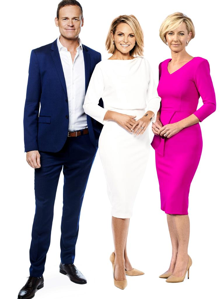 Tom Steinfort, Georgie Gardner and Deb Knight are now leading the new Today line up.