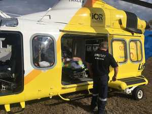 Boy kicked by horse near Toowoomba transferred to Brisbane
