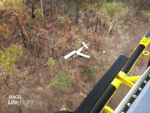 First photos of Mundubbera plane crash emerge
