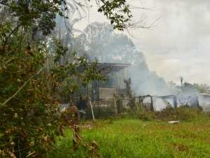 Historic home totally destroyed by relentless inferno