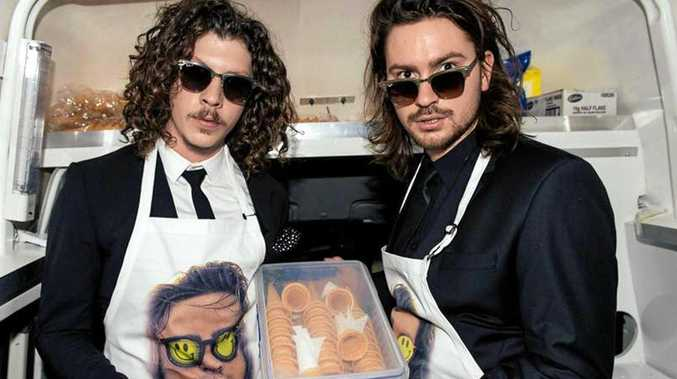 ON TOUR: Australian electronic duo Adam Hyde and Reuben Styles, aka Peking Duk, are returning to Airlie Beach in April.
