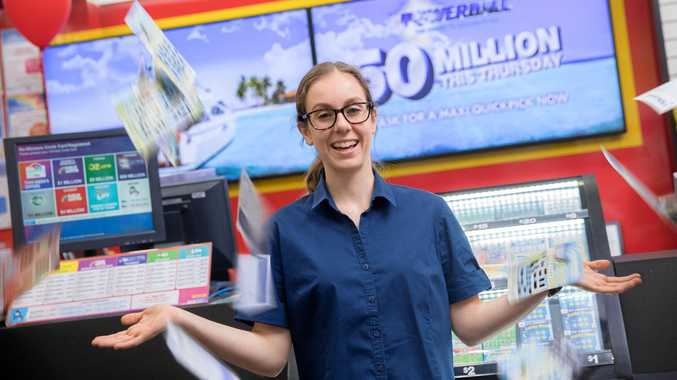 A North Lakes mum discovered she won $50,000 from an Instant Scratch-It she had in her bedside table for more than three years.