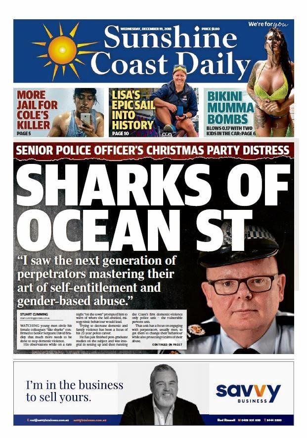 The Daily's coverage of Snr Sgt David Bradley's open letter.