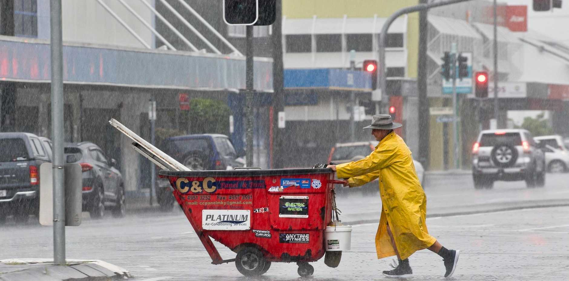 Ex-cyclone Penny has brought wind and rain to the Mackay region.