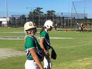 Rocky softballers represent state at nationals on day four