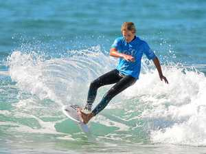 Young guns to hit waves as surf action starts up