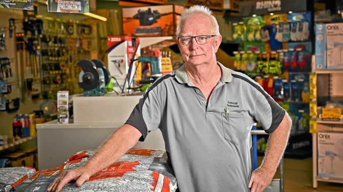 Karalee Hardware owner Andy Hunter.