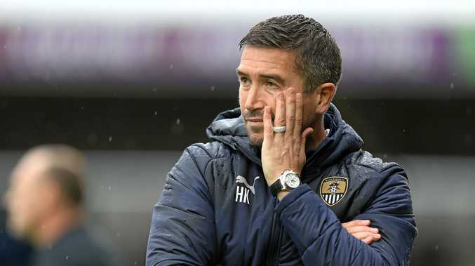 Then Notts County manager Harry Kewell looks on during a League Two match between Northampton Town and his team on September 22 last year. Picture: Pete Norton/Getty Images