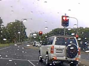 WATCH VIDEO: Rocky driver loses it in the wet weather