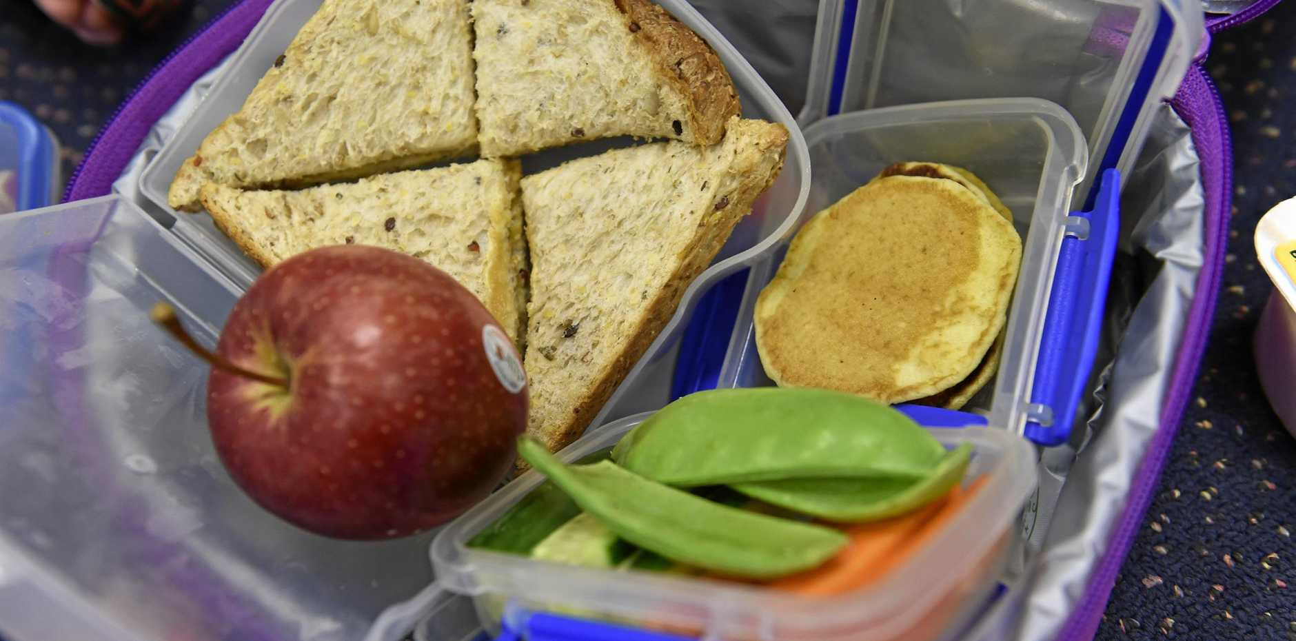 EASY EATING: Reducing waste in your child's lunchbox is good for both the environment and your little's one's growing body.