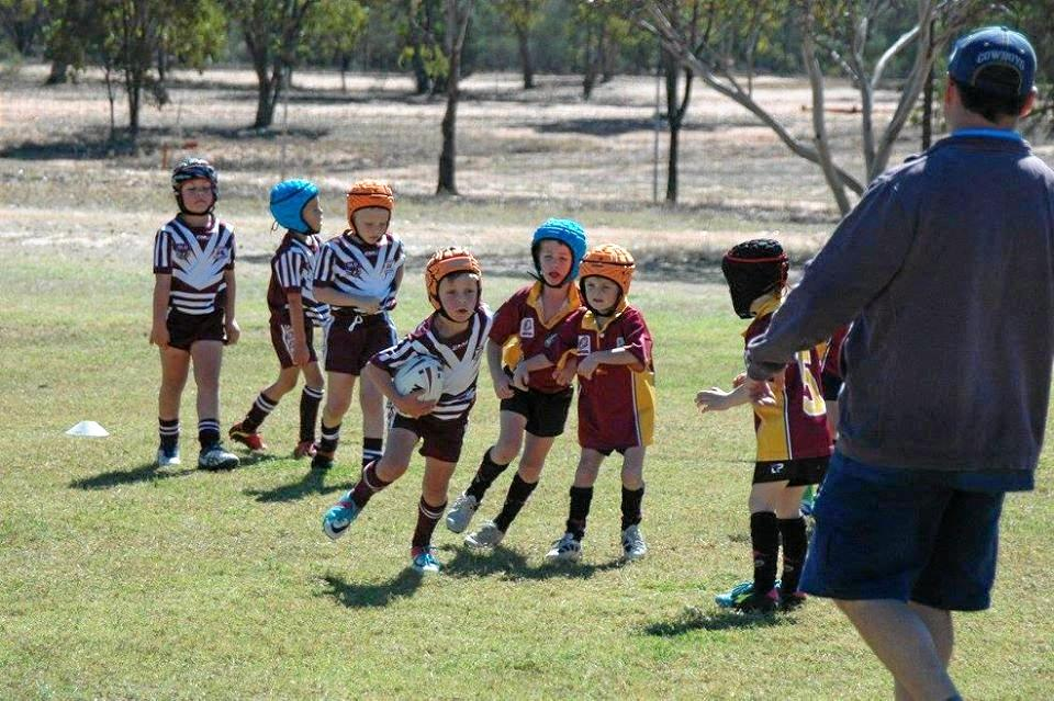 FUNDING BOOST: The Augathella Junior Rugby League Club will be able to upgrade the field lighting, allowing for night-time training and games.