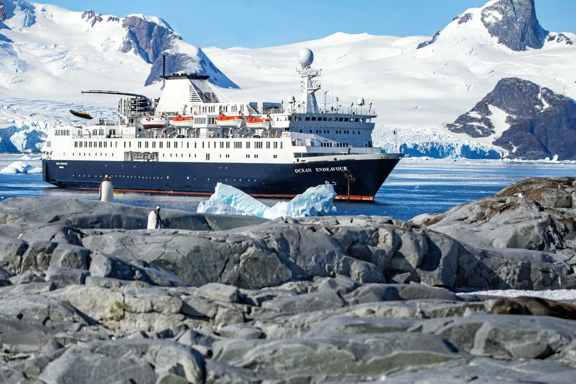 Chimu Adventures have leased a ship, in partnership with Intrepid Group, which is capable of going to Antarctica.