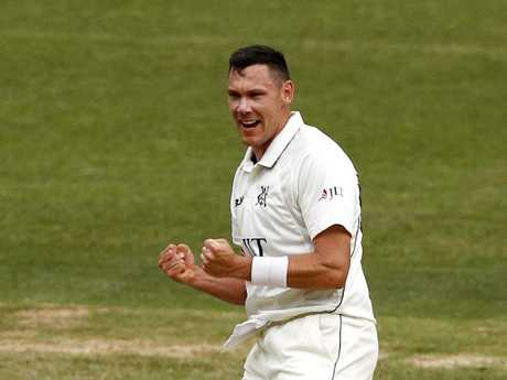 Scott Boland is far and away the best bowler in the Sheffield Shield season to date. Picture: AAP