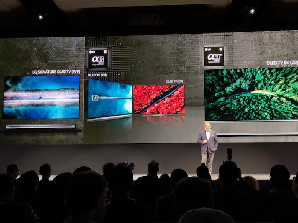 The insanely sharp 8K resolution packs four times as many pixels into a display than the 4K.