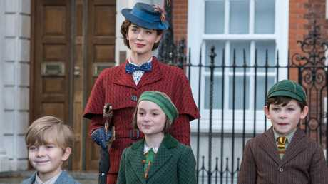 The new Mary Poppins Returns, starring Emily Blunt, is more than just a nostalgia trip. Picture: Jay Maidment