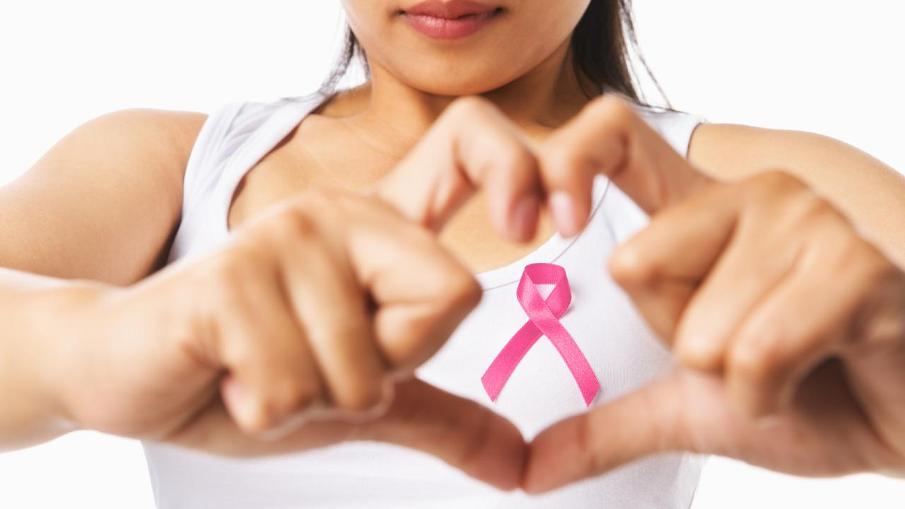 The breast cancer pink ribbon. Picture: Thinkstock