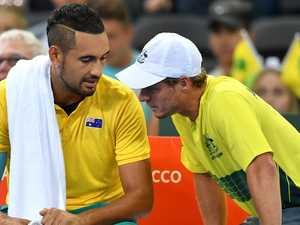 Kyrgios deletes provocative Hewitt tweet