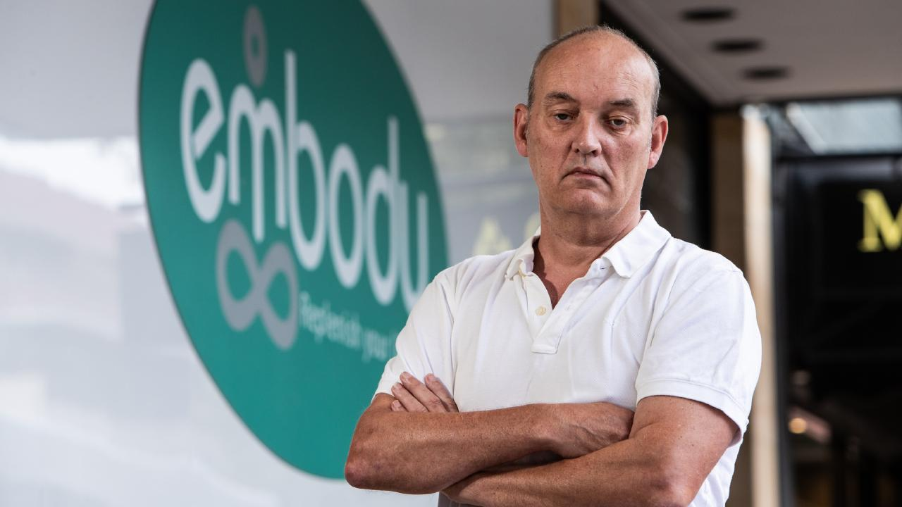 Major investor Tim Cox from Neutral Bay lost $500,000 of his own money when Embody wellness centre was liquidated by founder Scott Capelin. Picture: Julian Andrews