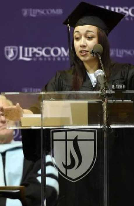 Cyntoia Brown received an associate's degree from university in jail.