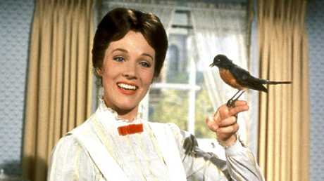 The original Mary Poppins film, starring Julie Andrews, was a childhood favourite.