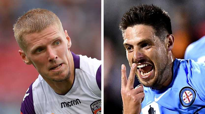 Andy Keogh and Bruno Fornaroli could be on the move.