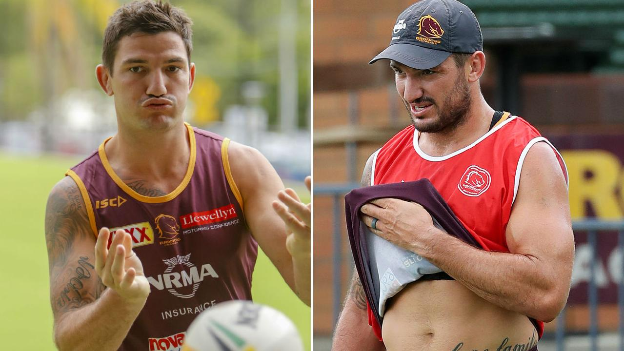 Matt Gillett has undergone a physical transformation. Pictures: Glenn Hunt and Joseph Hill