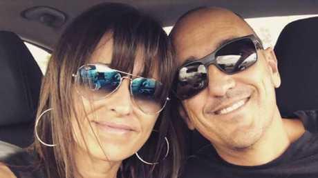"""One in a million"": Crash victim Warren Bornman with wife Vesna."