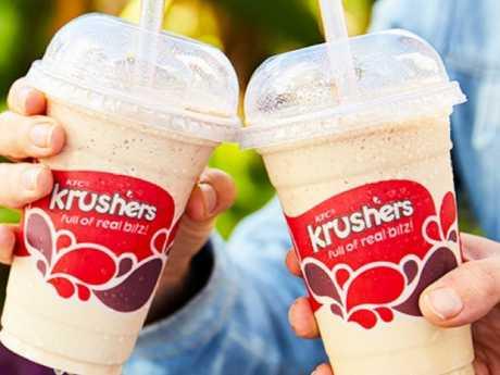 KFC Krushers, first introduced in 2009. Credit: kfc.com.au
