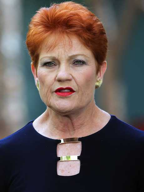 Senator Pauline Hanson. Picture Gary Ramage