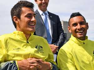 Kyrgios: 'I don't have any bad blood with Bernie'