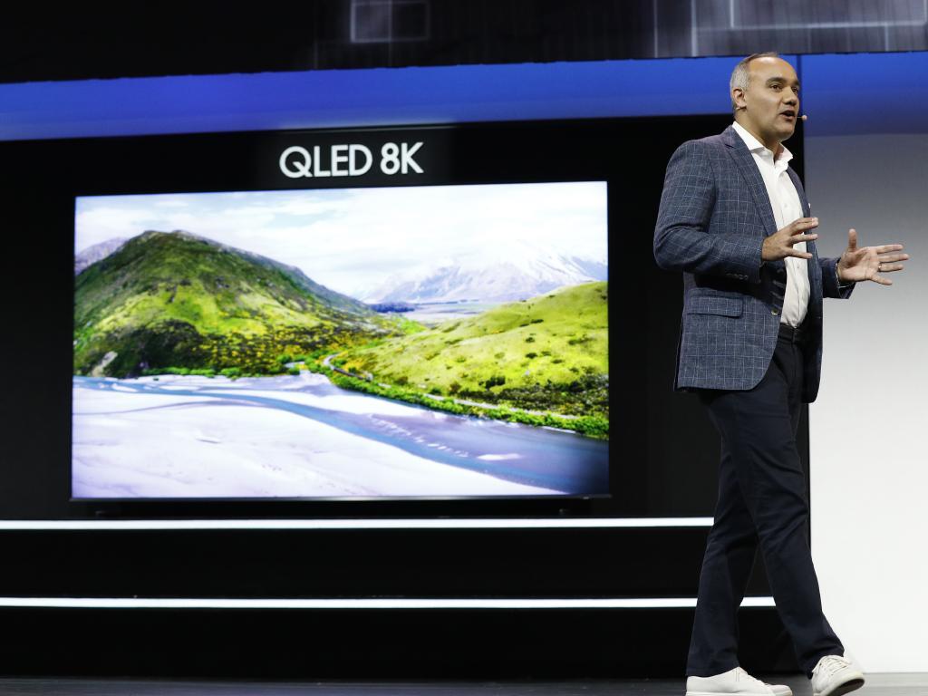 Samsung Electronics America senior vice president Dave Das also unveiled the 98