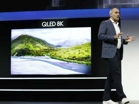 Samsung Electronics America senior vice president Dave Das also unveiled the 98