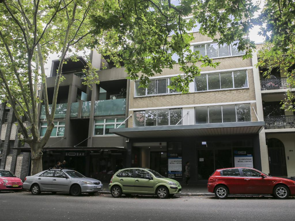 The Potts Point home of Annalise Braakensiek who was found dead on Sunday afternoon.