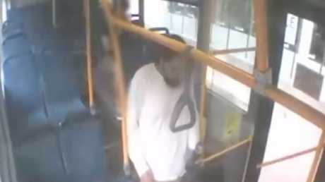 The man was on the Route 903 bus on December 27.