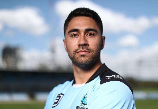 Shaun Johnson has joined the Sharks.