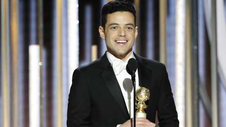 Malek won Best Actor for Bohemian Rhapsody, which also scooped up the Best Picture win. Picture: Paul Drinkwater/NBCUniversal via Getty Images