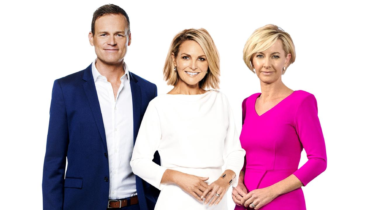 The new Today line-up for 2019 comprises Tom Steinfort, Georgie Gardner and Deb Knight.
