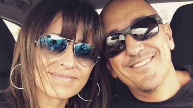 Crash victim Warren Bornman with his wife Vesna. PIcture: Supplied