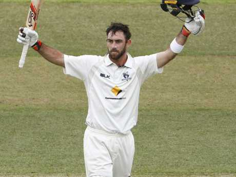 Unfairly pigeonholed as a short form specialist throughout his career, Glenn Maxwell has had limited opportunities for Victoria in the Sheffield Shield this season. Picture: AAP