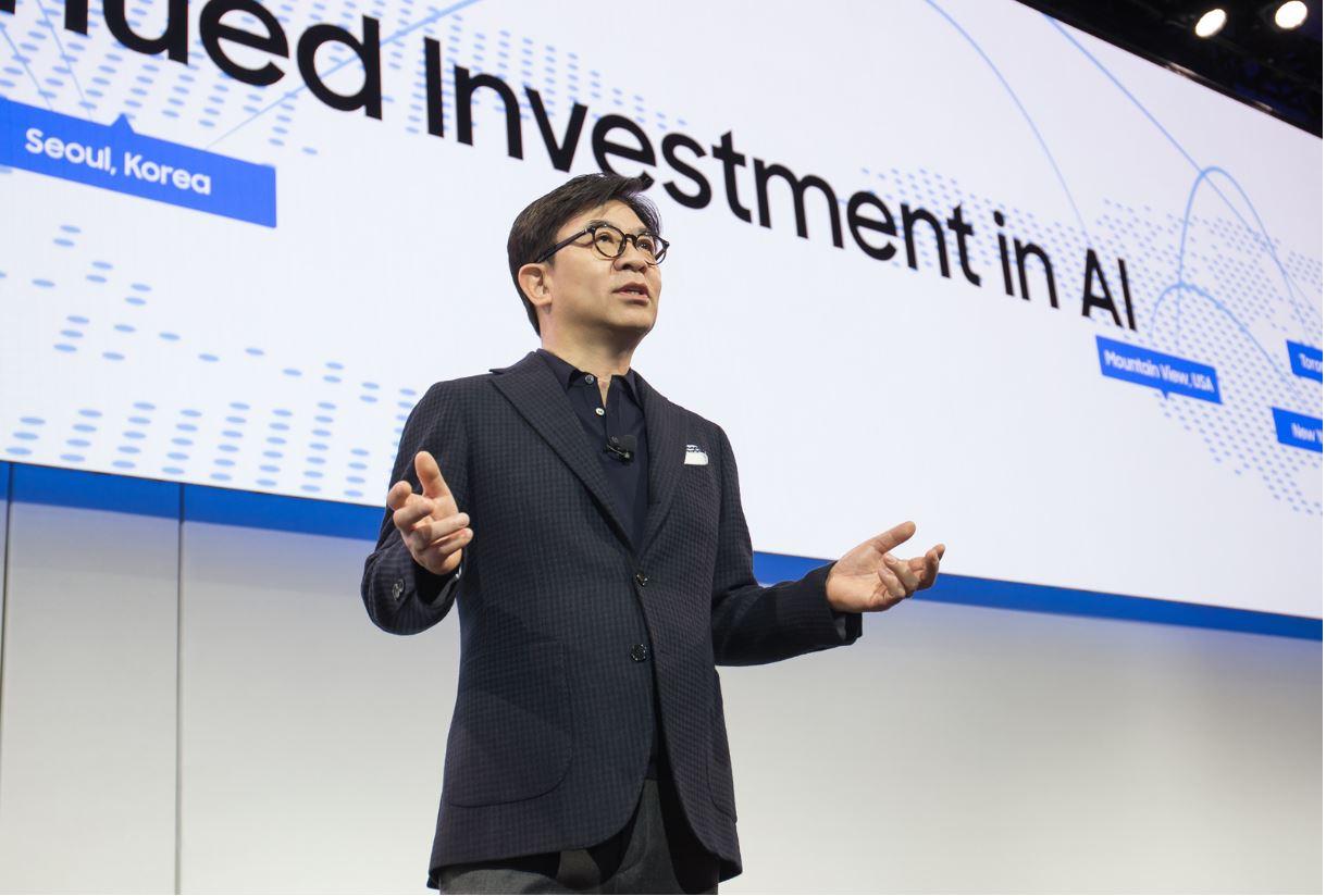 Samsung consumer electronics CEO HS Kim.