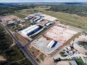 FOR SALE: Spot in massive industrial park hits market