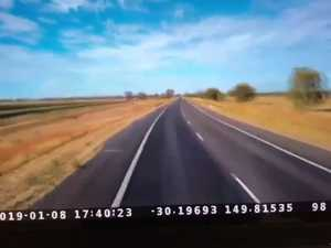 Newell Highway dashcam
