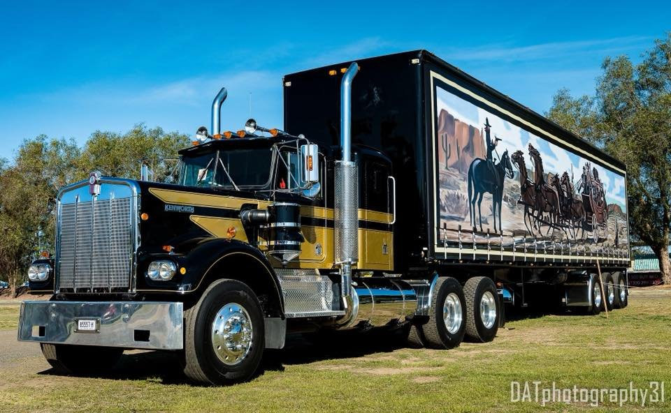 Smokey and the Bandit truck and trailer replica is up for sale.