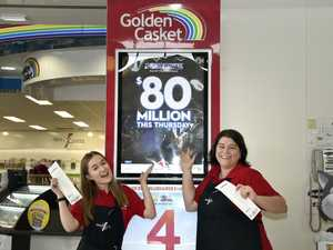 Newsagents flat out selling $80 million Powerball tickets