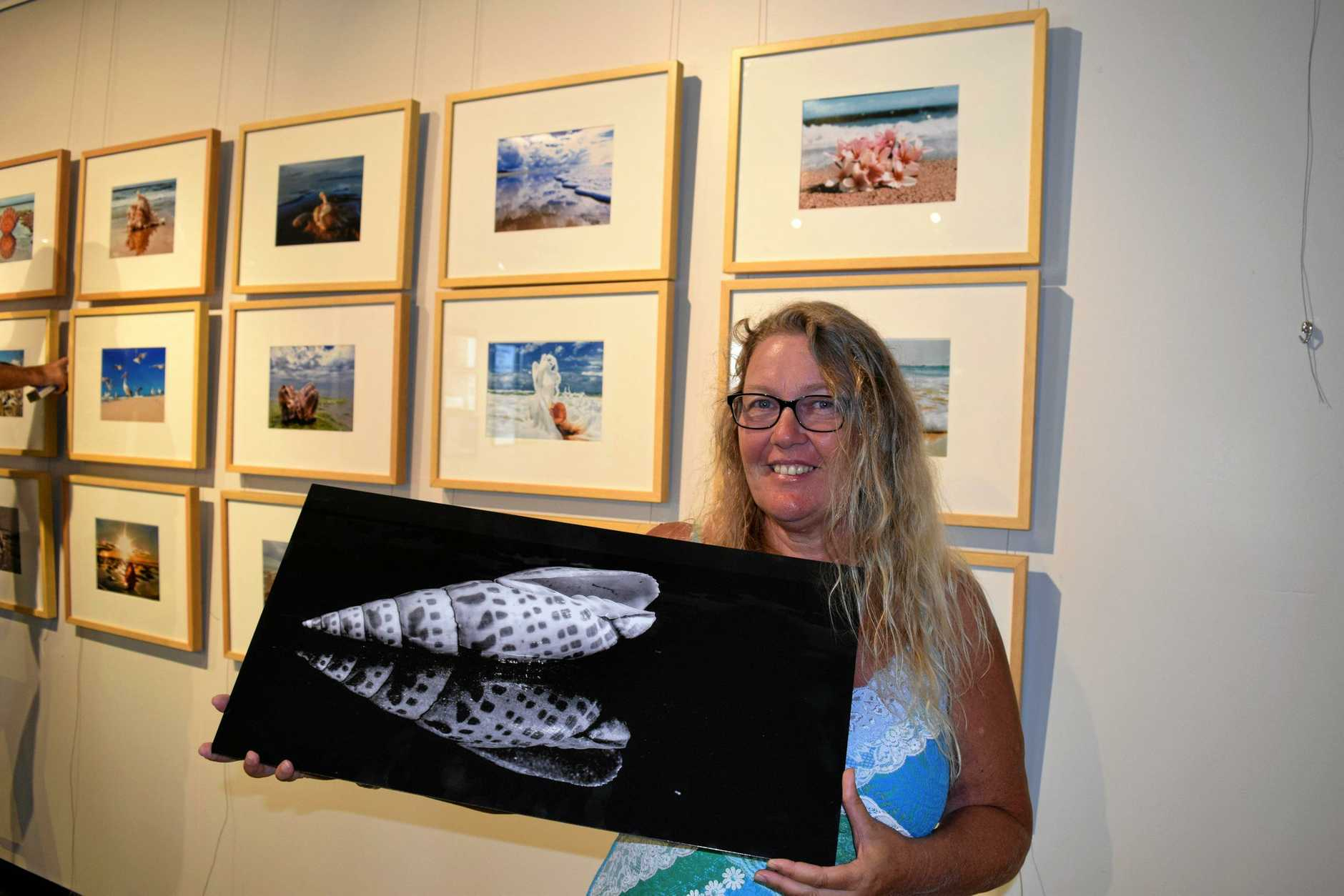 Maryborough photographer Jenny Beck will hold her first exhibition By The Sea at Gatakers Artspace.
