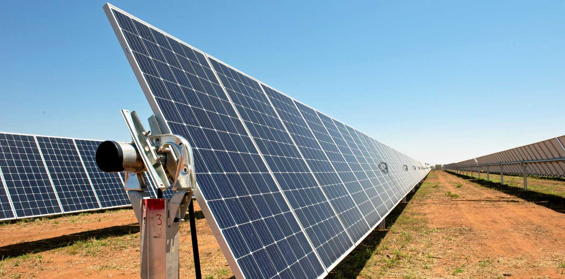 A development application has been submitted to council for an 88 hectare solar farm in Glenella.