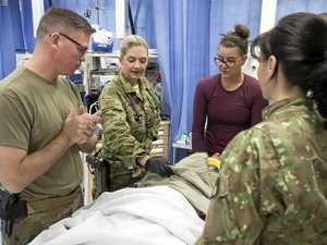 From Kingaroy to Kabul: Navy doctor still calls Burnett home